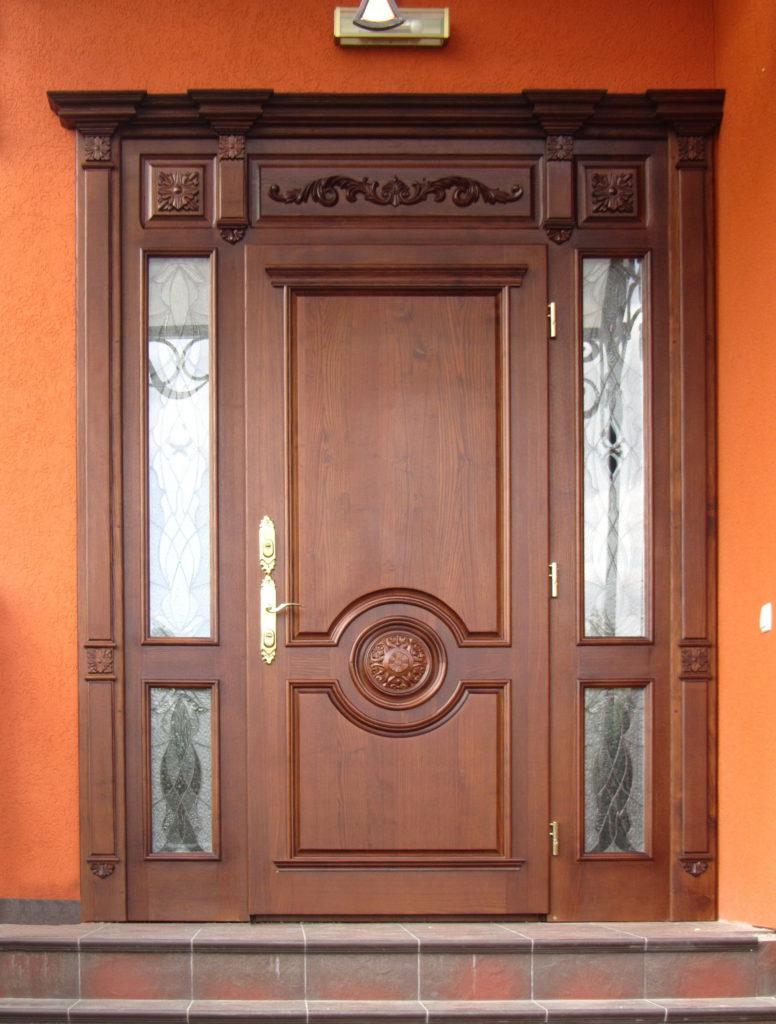 дверь входная из массива дуба купить